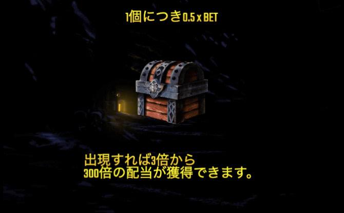 宝箱のシンボル