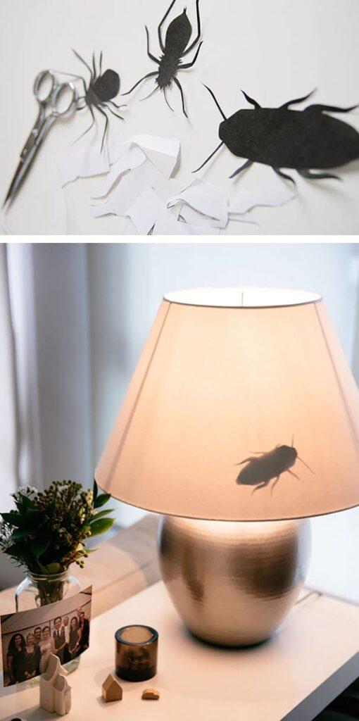 恐怖の虫ランプ