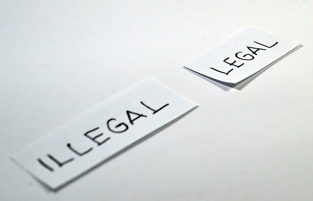 オンラインカジノは違法?合法?