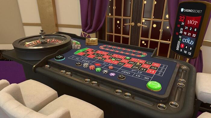 Casino Secretのライブカジノ