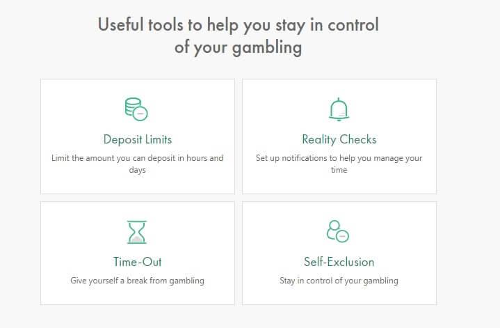 ギャンブル制限機能