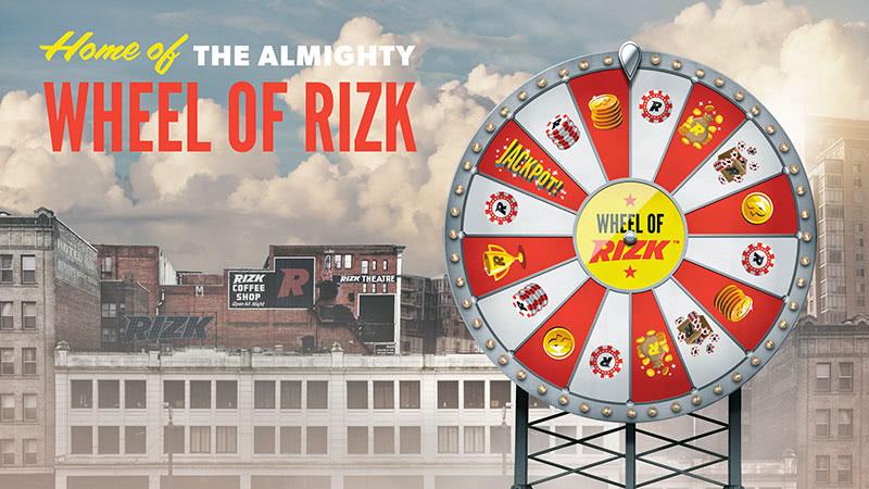 運命のホイール The Wheel of Rizk